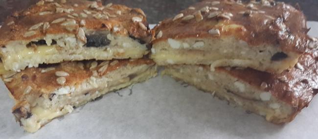 Диетический пирог с сыром